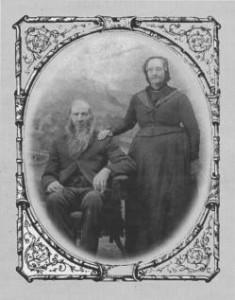 Anne Soffie and Peder Petterson Benrud