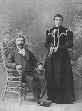 Anton and Maria Benrud