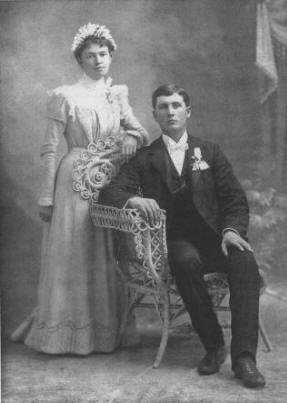 Annie Sophia (Olson) & Albert Knai Olson