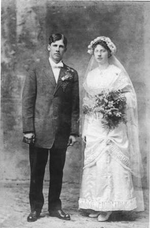 Menton and Emma Larson